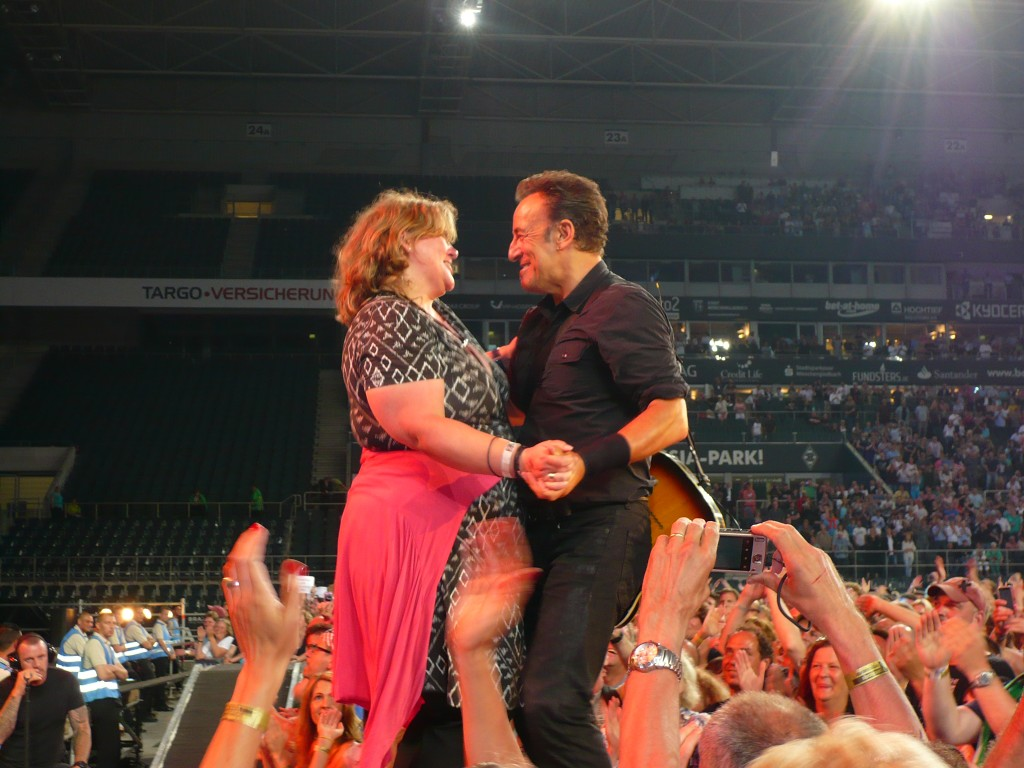 Bruce Springsteen und Monica Deters