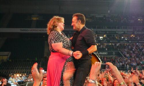 Bruce Springsteen und Monica Deters