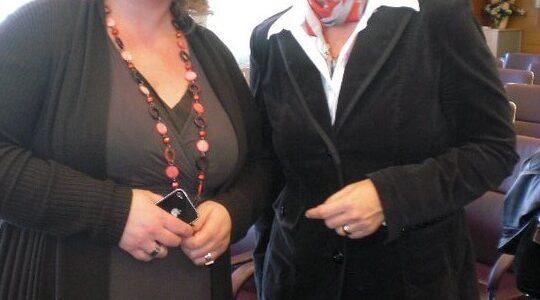 Christine Haderthauer - Staatsministerin Bayern und Monica Deters