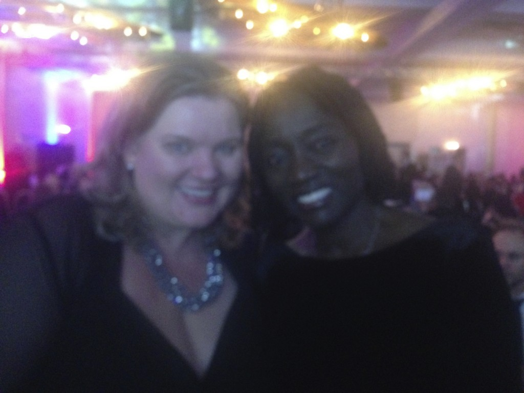 Dr Auma Obama und Monica Deters