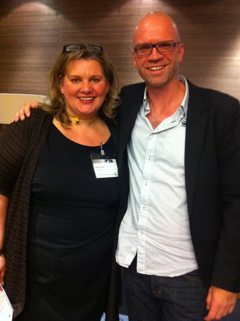Ego-Wand Monica Deters mit RTL Comedy Produzent Thorsten Sievert