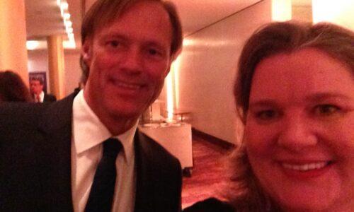 Gerhard Delling und Monica Deters