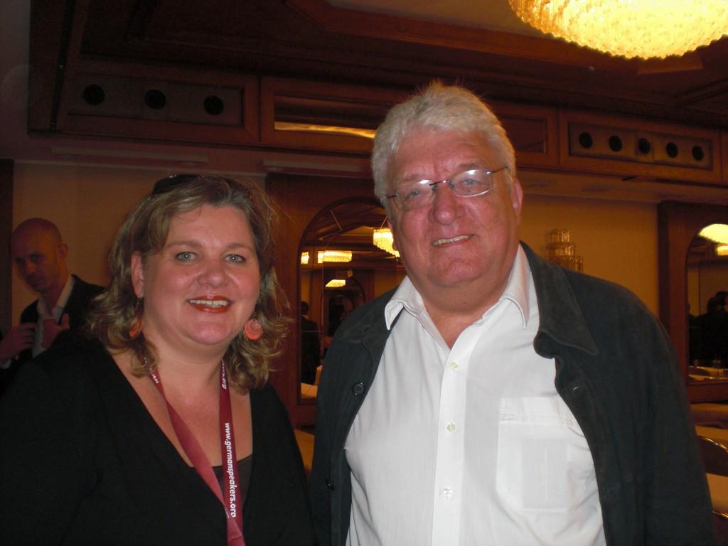 Hans Meiser und Monica Deters