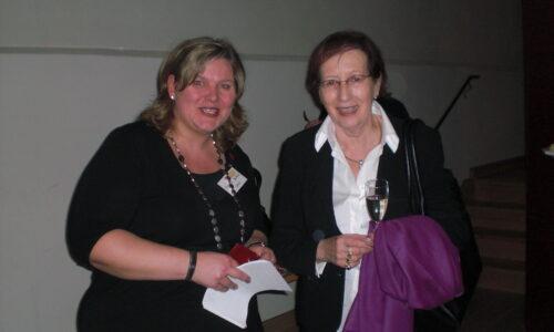 Heidi Simonis und Monica Deters