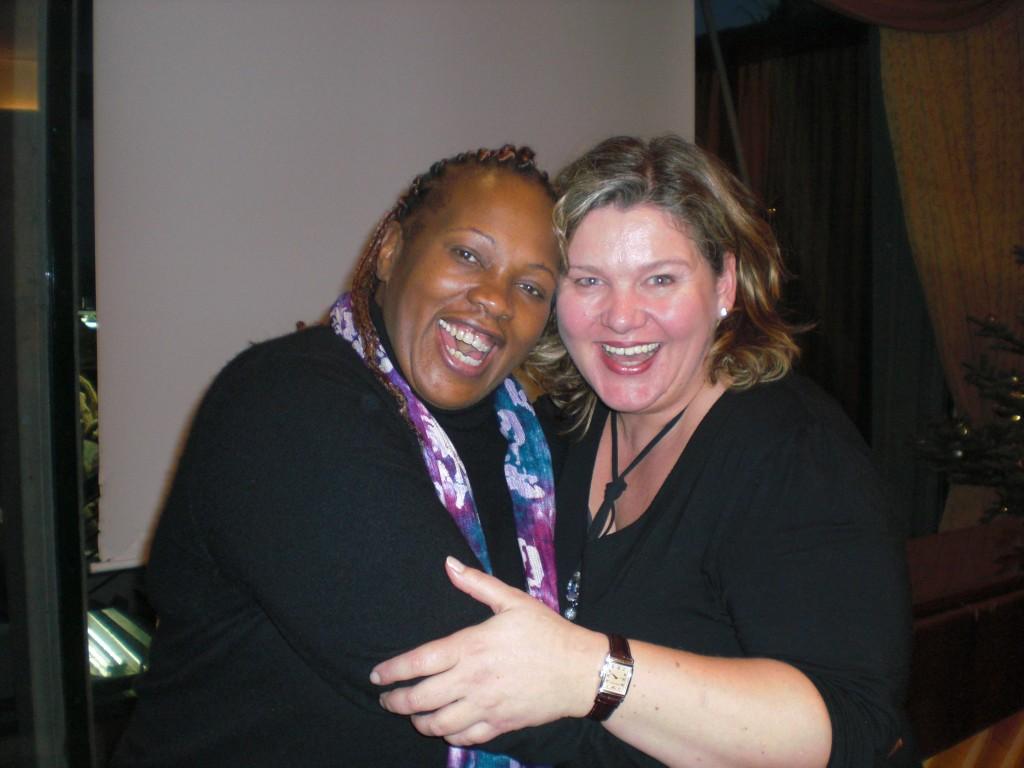 Liz Howard und Monica Deters