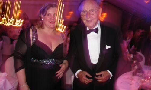 Monica Deters und Hans-Dietrich Genscher