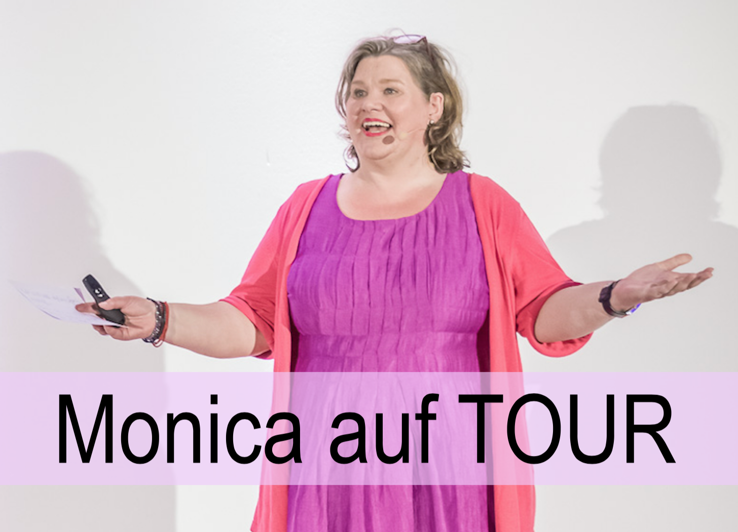 Monica auf TOUR