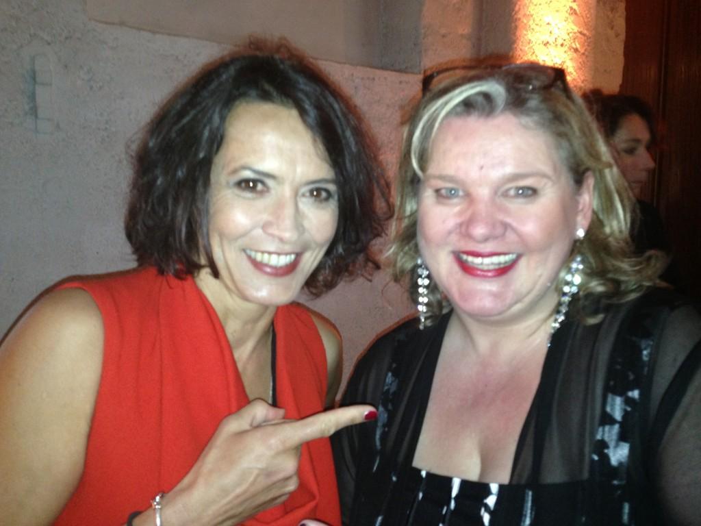 Ulrike Folkerts und Monica Deters