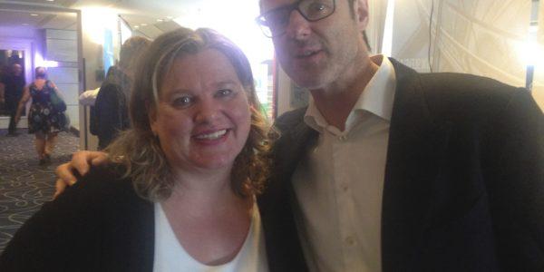 Vince Ebert und Monica Deters