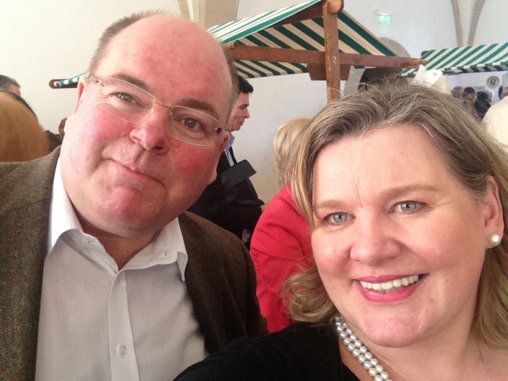 Walter Kohl und Monica Deters