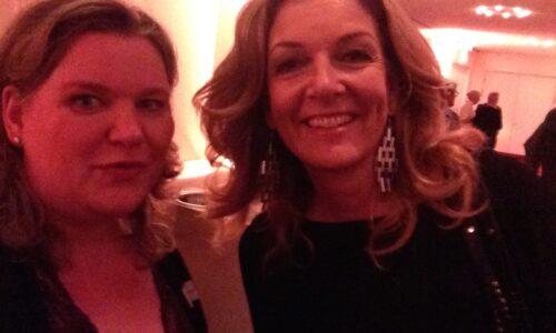 Bettina Tietjen - NDR-Moderatorin und Monica Deters
