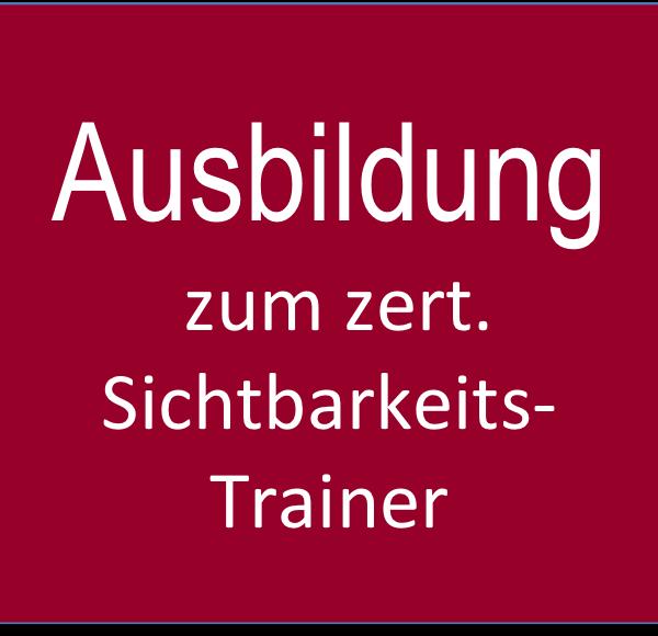 Ausbildung Sichtbarkeit Trainer