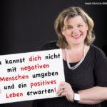 Du kannst dich nicht mit negativen